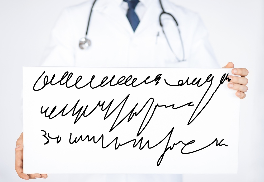 О чем говорит корявый почерк