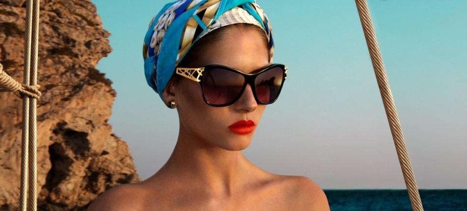 Как носить платок на голове летом?
