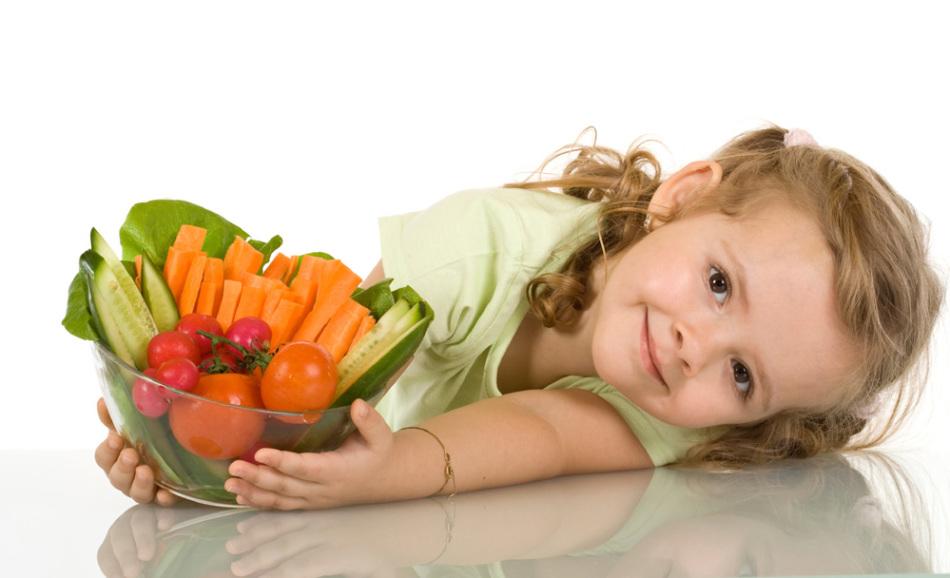 Овощи содержат наибольшее количество клетчатки