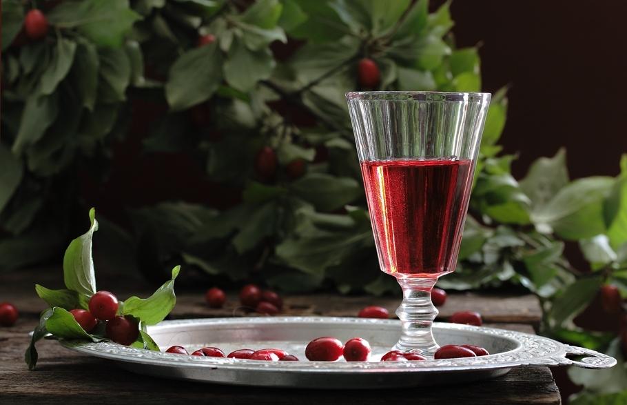 Напиток из черноплодной рябины