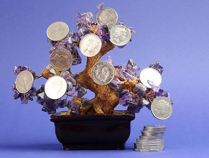 Поздравление на свадьбу денежное дерево