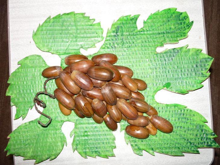 vinogradnaya-grozd Декоративные ветки с бутонами из природного материала