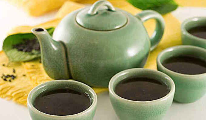 Что входит в состав зеленого чая