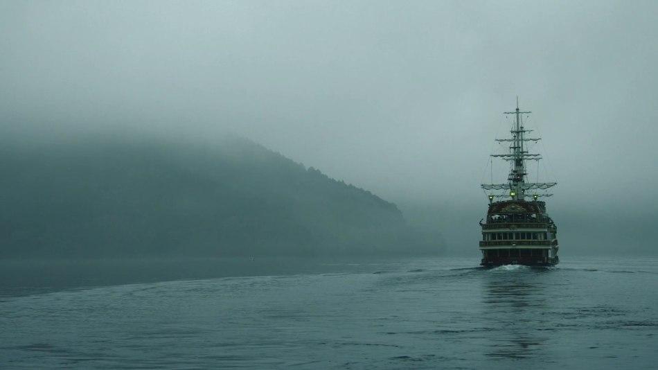 Корабль на реке снится целеустремленным людям.