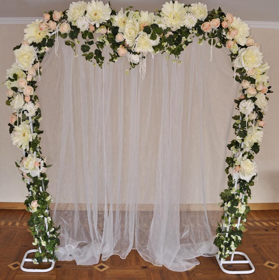 Свадебная арка украшаем своими руками фото 388