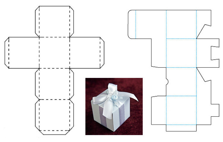 Шаблоны коробок своими руками фото 909