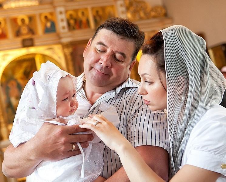 Правила крещения в церкви