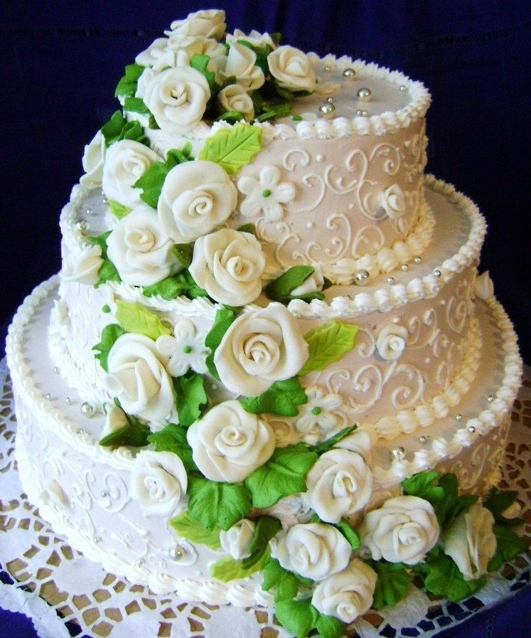 свадебный торт масляный крем картинки блюдо при похудении