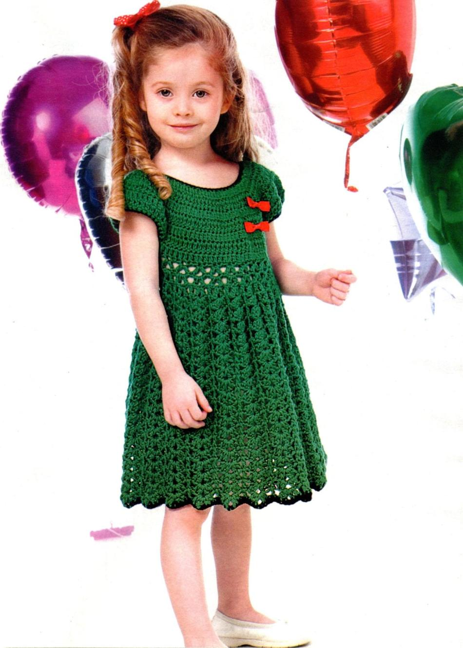 208da0825e0973c5a408e124e9d67f03 Вязаное платье для девочки 2 года: схемы