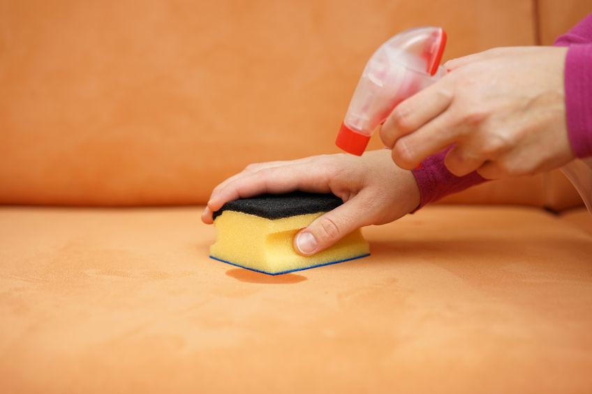 Очистить пятно от лака
