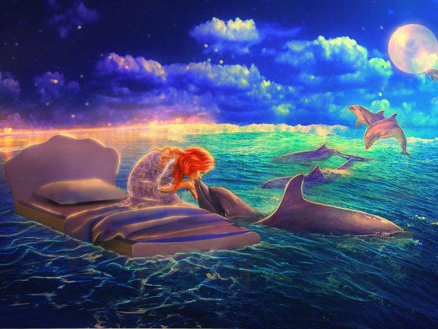 Сонник — дельфин: к чему снится во сне белый, розовый, мертвый ...