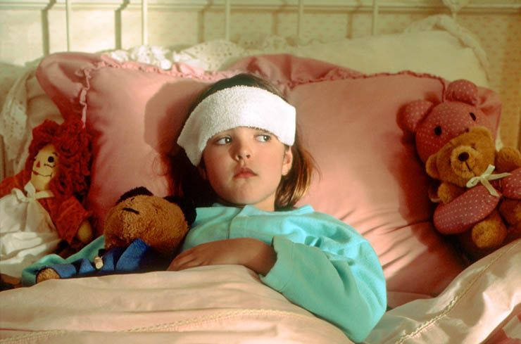 Если ребенок 5 лет не ходит в сад, но часто болеет, у него может быть всд.