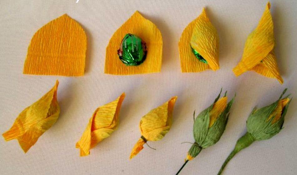 21e9d53561ff4772b55b396bebb1ea2d Как сделать розу из бумаги своими руками