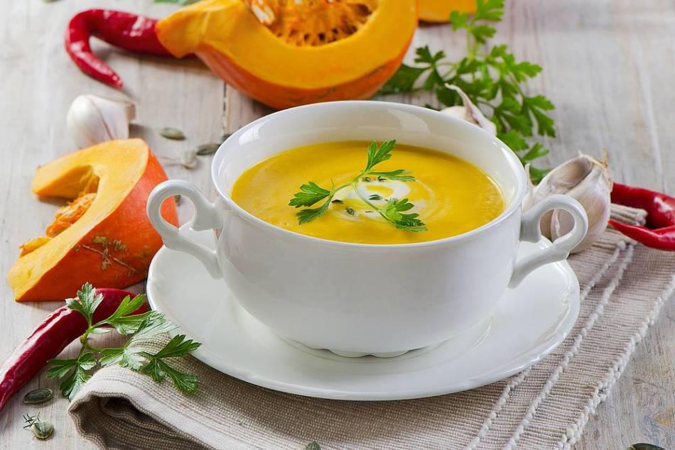 Тыквенный суп-пюре с морковкой для прикорма