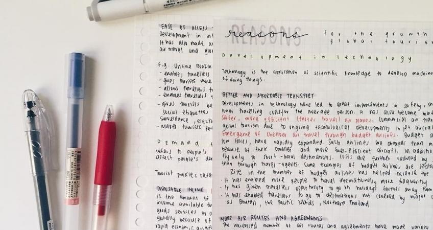 Характер человека при красивом почерке