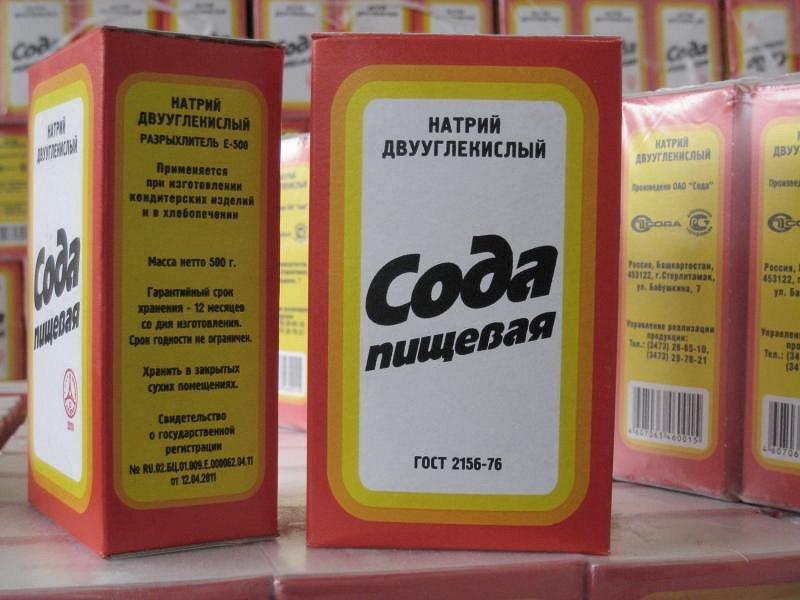 Пищевая сода для определения беременности