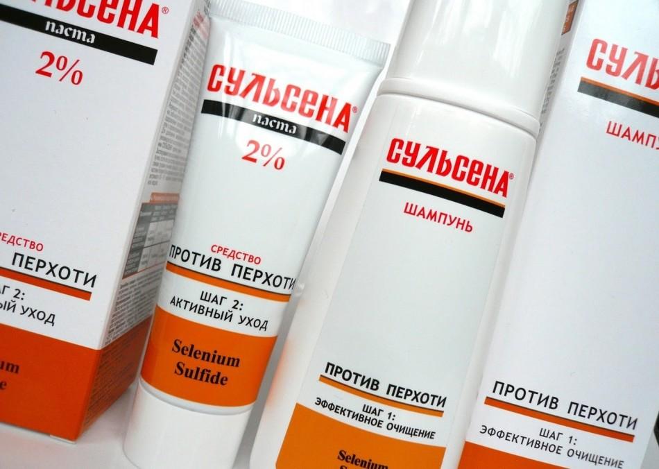 Сульсена - паста для роста волос и предотвращения их выпадения