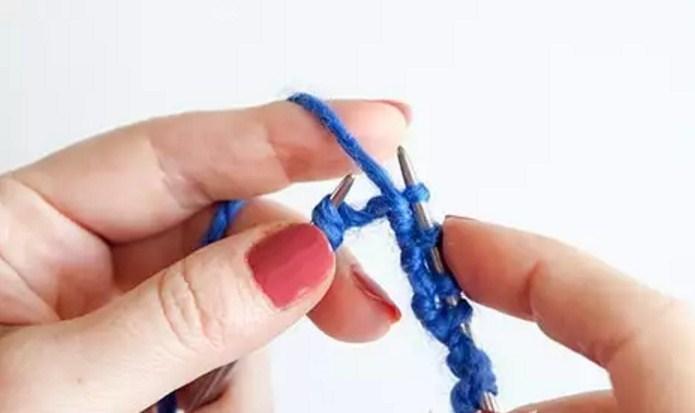 nit-pered-rabotoi Итальянский набор петель спицами: видео, как набрать, способы, эластичный, для резинки 1х1, схема