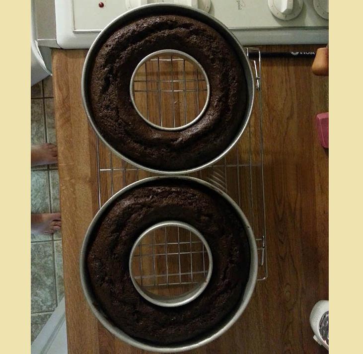 Бисквитные коржи для торта 3