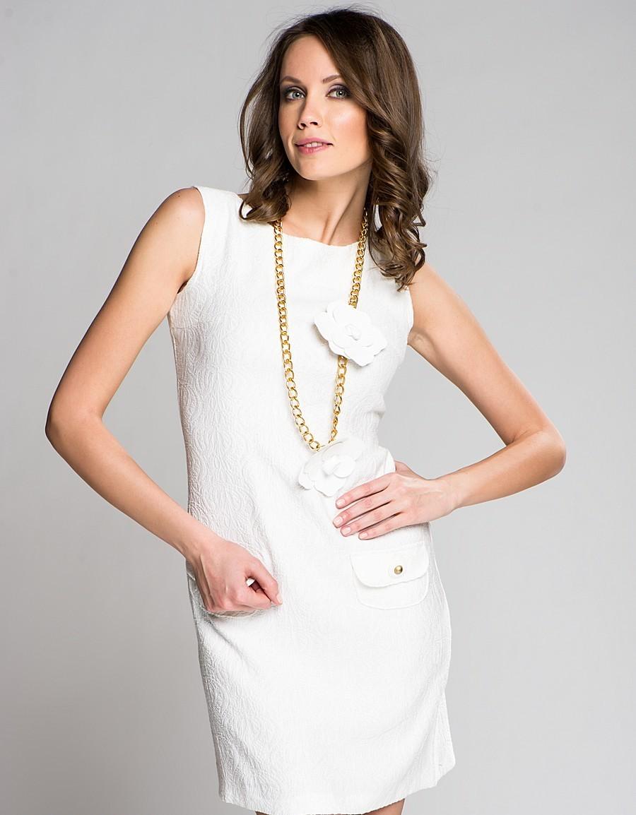 бижутерия к платью с круглым вырезом фото платье александры
