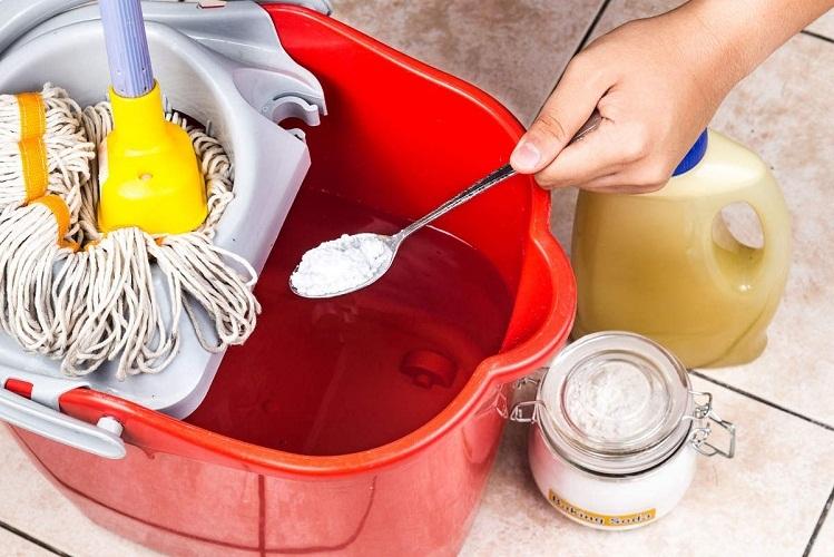Подручные компоненты помогут усилить влажную уборку