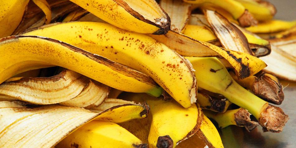 Банановые шкурки для приготовления удобрения