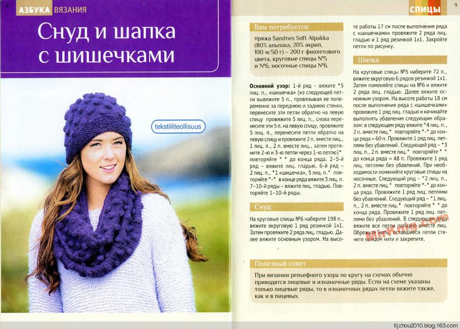 2914b60c8d9cd8f6c72416fd38adb89a Как связать женский шарф снуд спицами для начинающих пошагово? Какими спицами вязать снуд, сколько петель набирать, как выбрать узор и размеры?