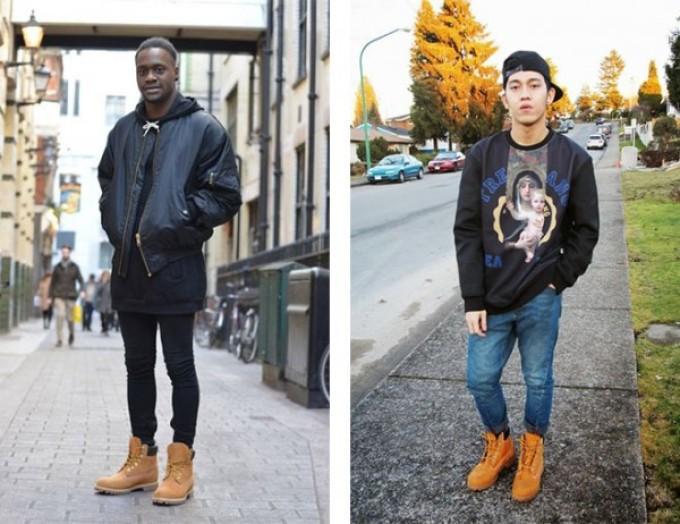 как носить тимберленды с джинсами мужчинам фото собственной ванной комнате