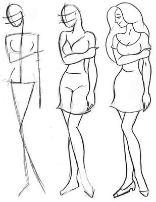 29efe03369ac8edd74d1d63a6a5f5d24 Как рисовать ноги человека? Подробно рассмотрим строение и технику рисования