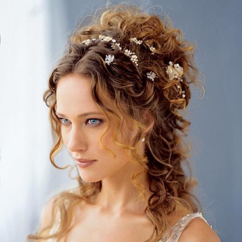 Римский стиль макияжа для невесты