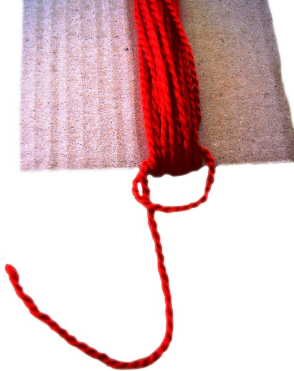 uzel-na-pryazhe-dlya-sozdaniya-kukli-oberega Народная кукла своими руками из ткани: мастер-класс с фото и видео