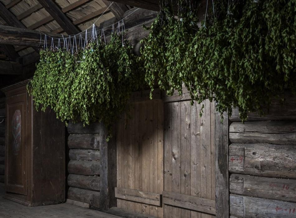 Банные веники должны храниться в сухом проветриваемом помещении