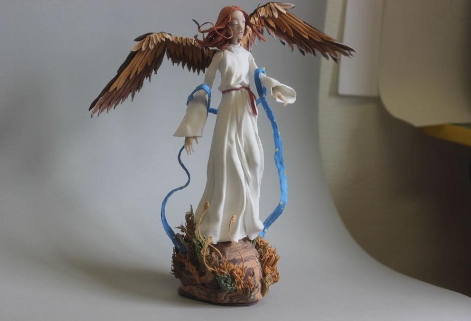 Фигурка-ангел в подарок для девушки