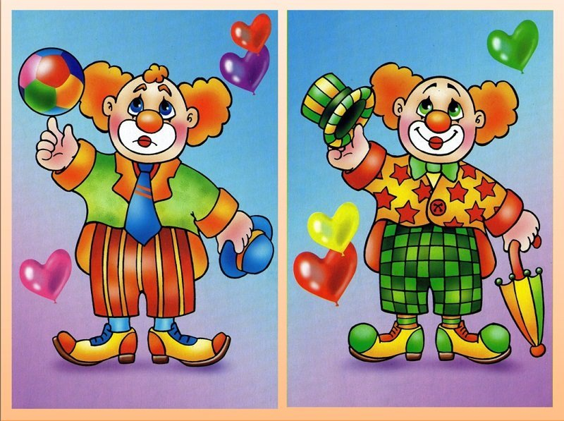Игра найди отличия в картинках для детей