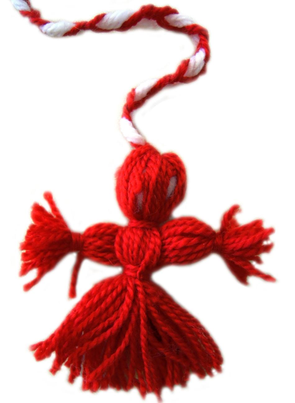 Окончательная стадия создания куклы-оберега