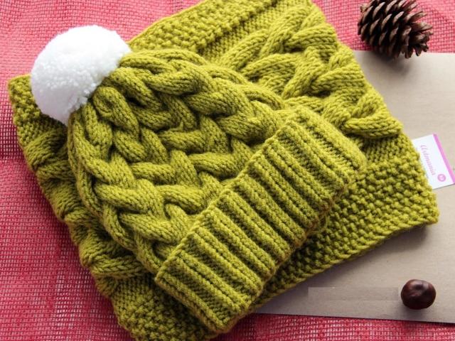 шапки спицами схемы вязания новинки модные вязаные спицами
