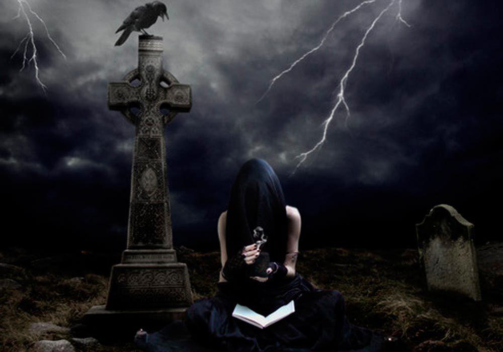 Снимать на кладбище