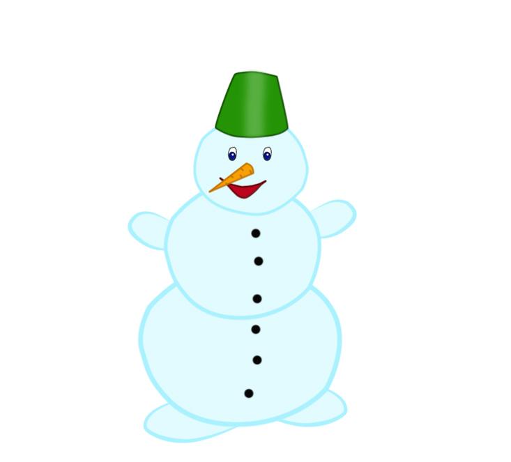 Снеговик картинки для детей нарисованные, господне