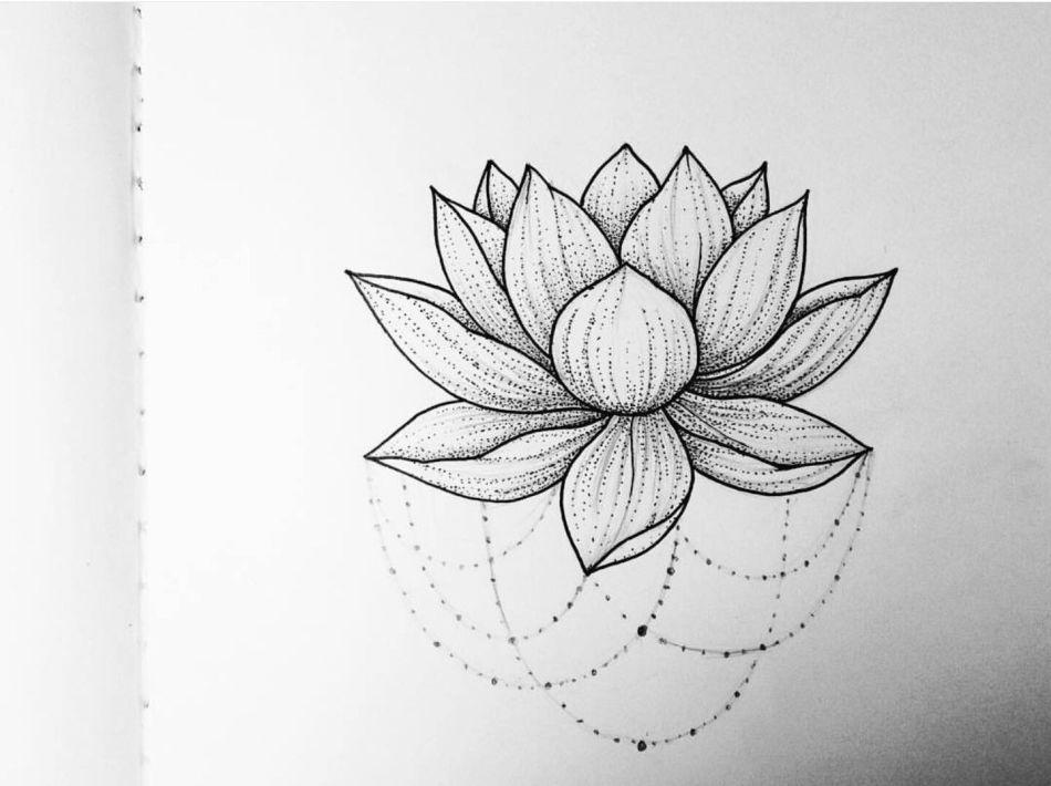 отличие лотос цветок рисунок тату наших