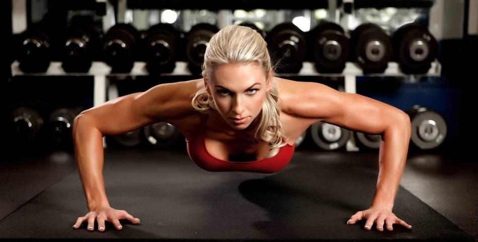 Какими упражнениями можно уменьшить грудь? отжимание