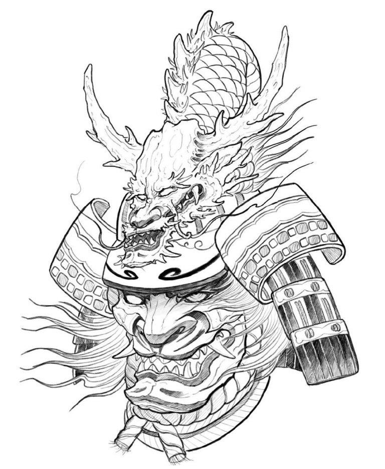 дневных картинки наколки самураи все