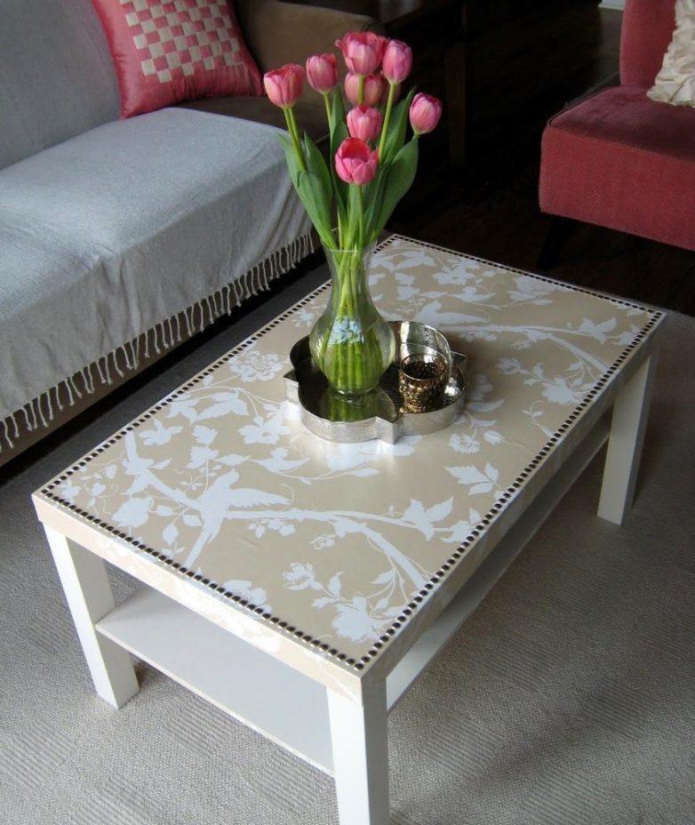 dekupazh-oboyami-pod-steklom---bistro-i-prosto Декупаж мебели фото до и после.Техника декупажа мастер класс. Декупаж мебели для начинающих, пошагово, салфетками, тканью, обоями, красками, в стиле прованс. Все для декупажа с Алиэкспресс