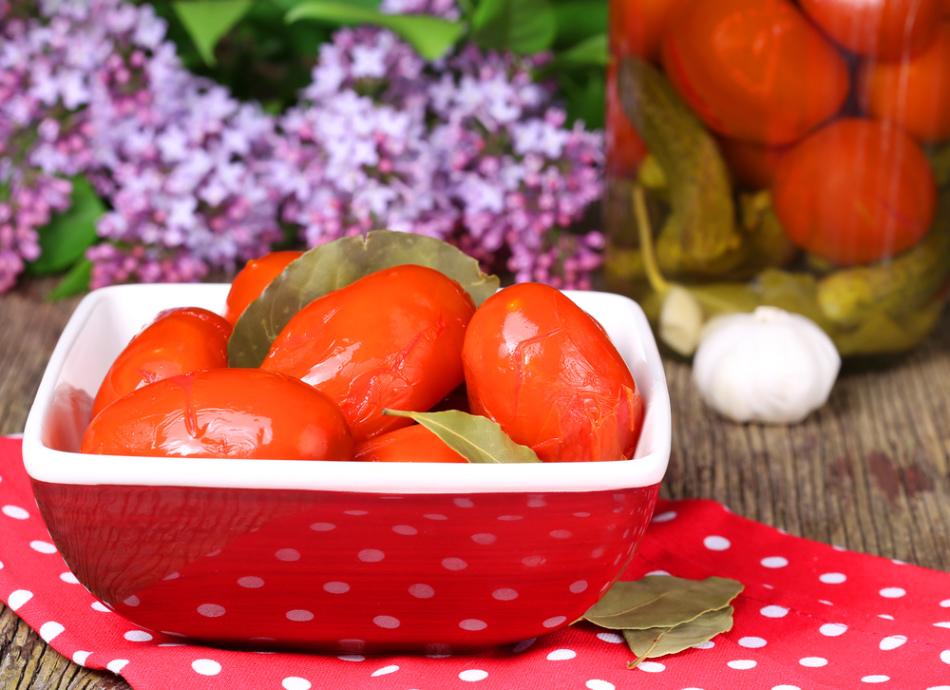Важно выполнение правил при засолке помидоров