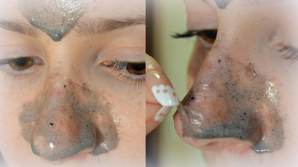 Желатиновая маска с активированным углем
