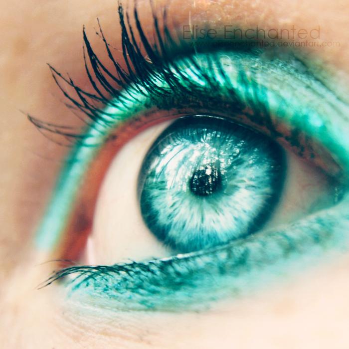 Красивые бирюзовые глаза картинки