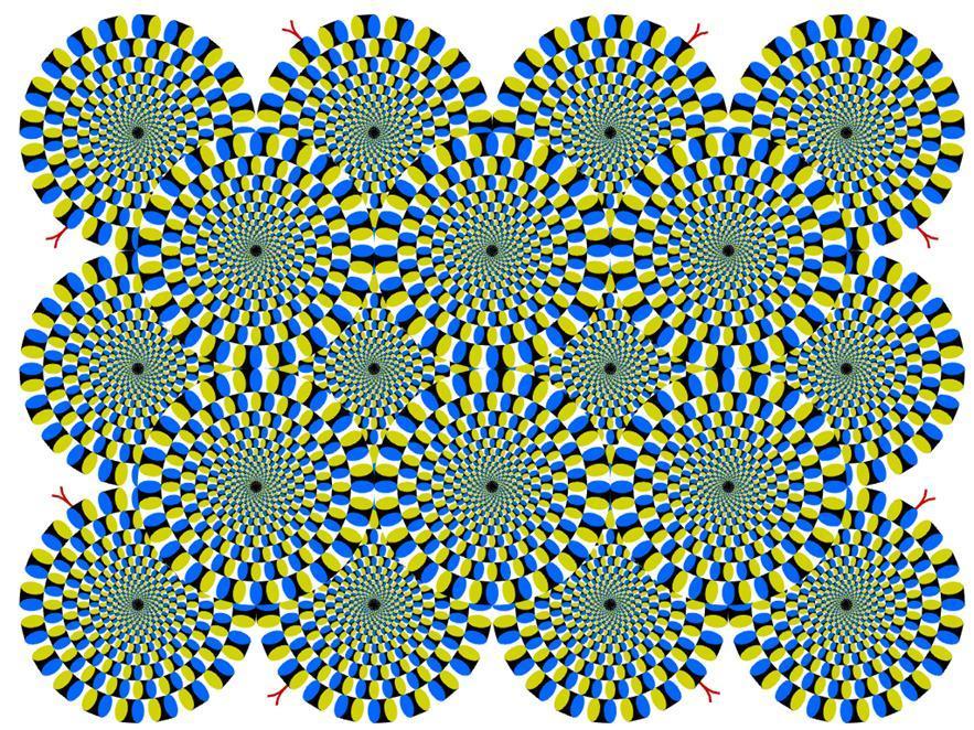 Зрительные иллюзии акиоши китаока