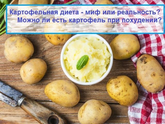 Какую Картошку Есть При Диете. Можно ли есть картошку при похудении – на каких диетах разрешено + рецепты диетических картофельных блюд