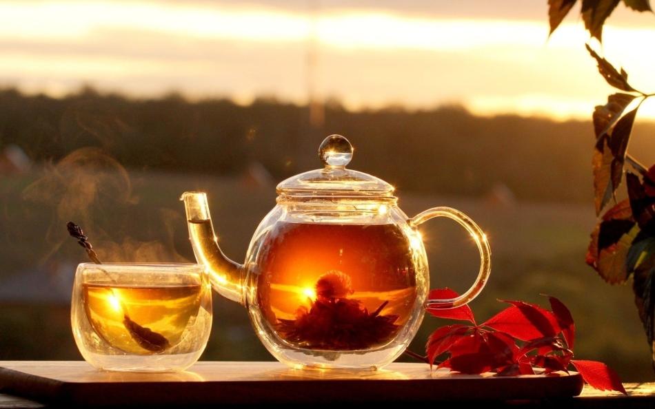 Чай с малиной, тишина и покой