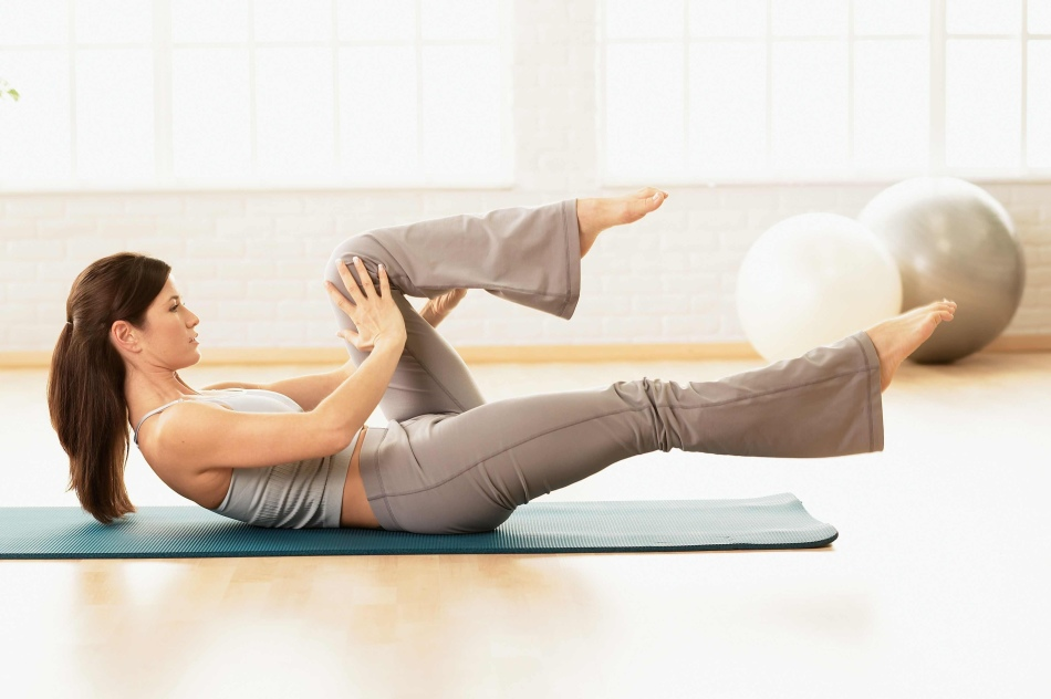 Калланетика - это комплекс растягивающих упражнений