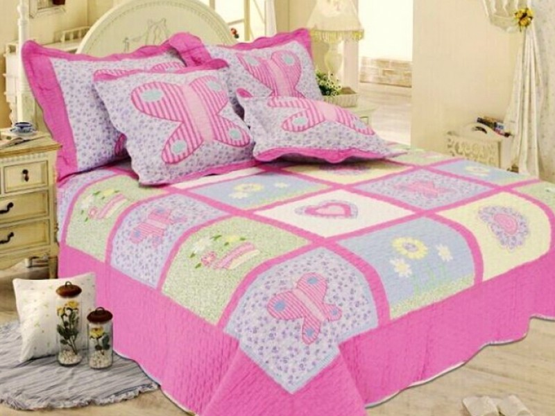 3386a3fd3a8fe7b7ac7b538cf607ffa5 Мастер-класс: Шьем лоскутное одеяло в стиле пэчворк